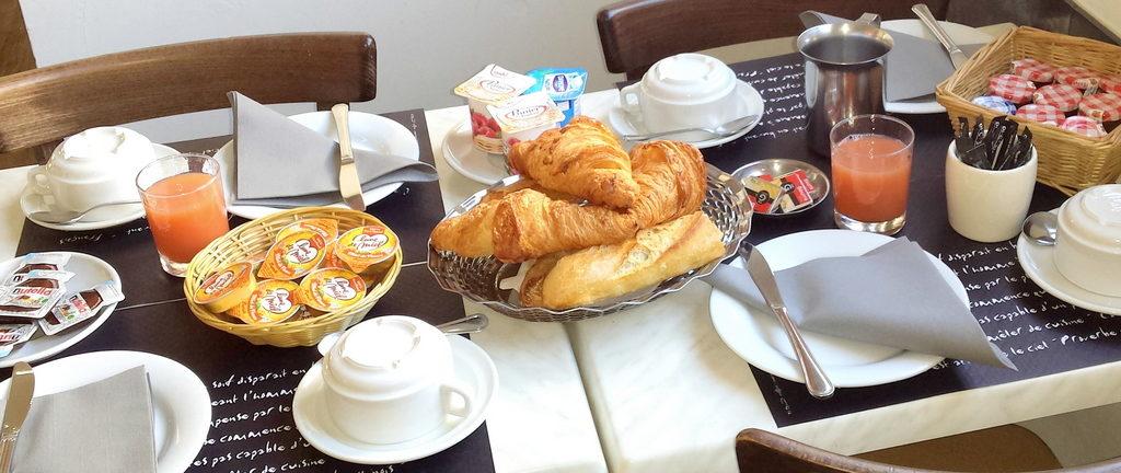 petit dejeuner hotel toulouse
