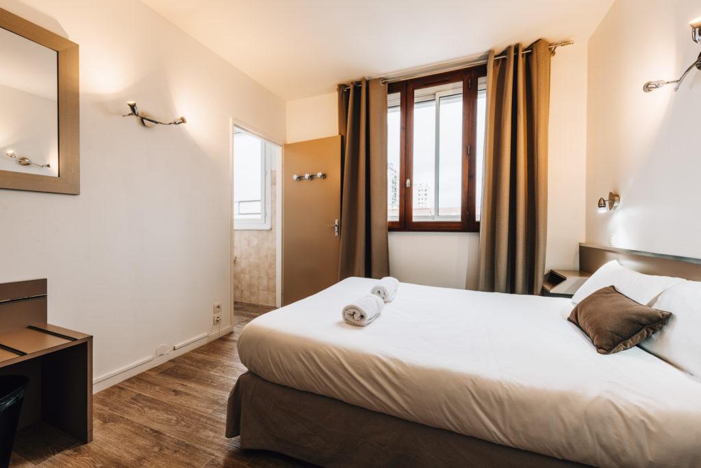 Hôtel 2 Étoiles Pas Cher Toulouse Proche Centre Hôtel Alizé Chambre Double (3)