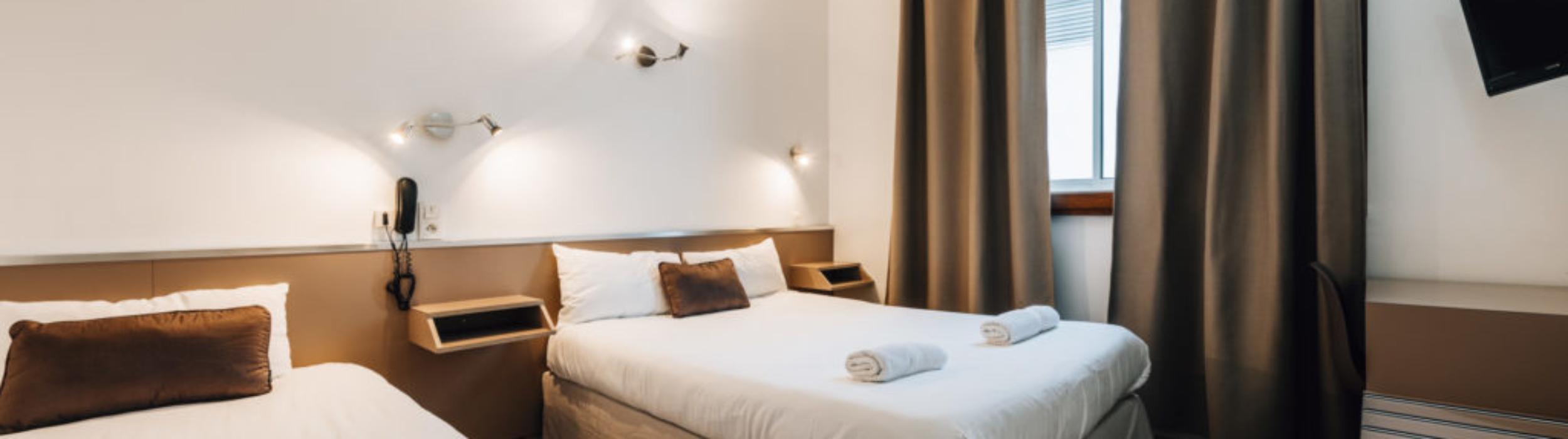 Hotel Alizé 2 étoiles Toulouse Minimes Chambre triple
