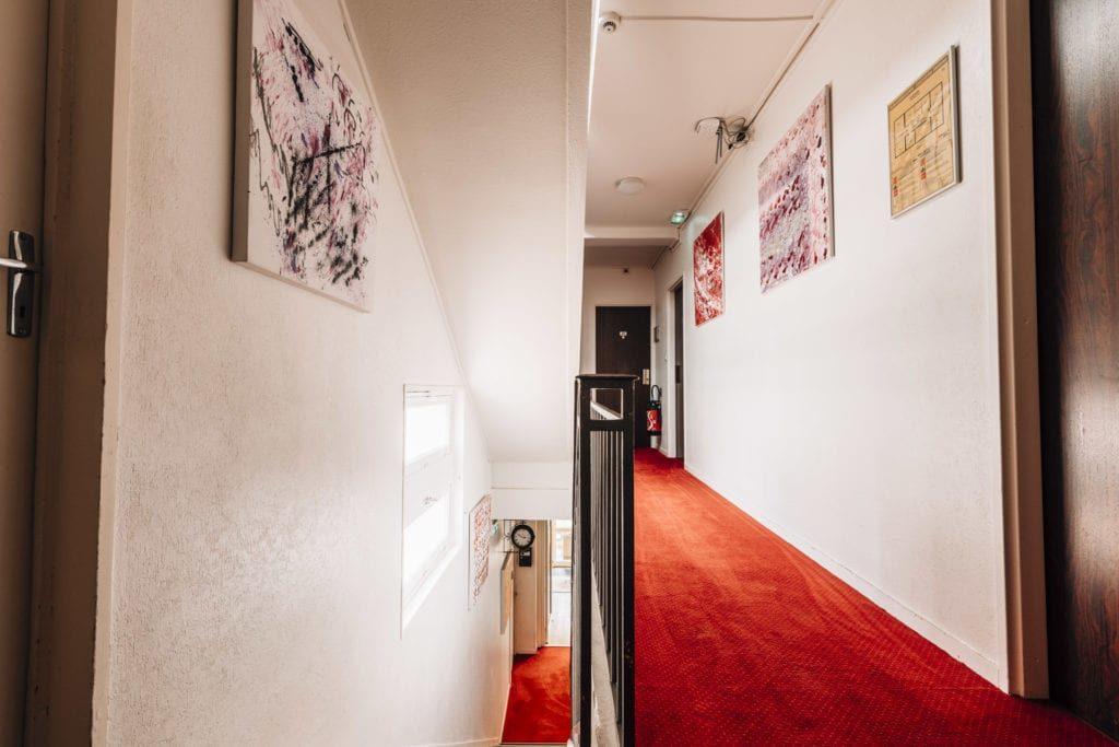 Hôtel Alizé 2 Étoiles Toulouse Centre Minimes Couloir Chambres