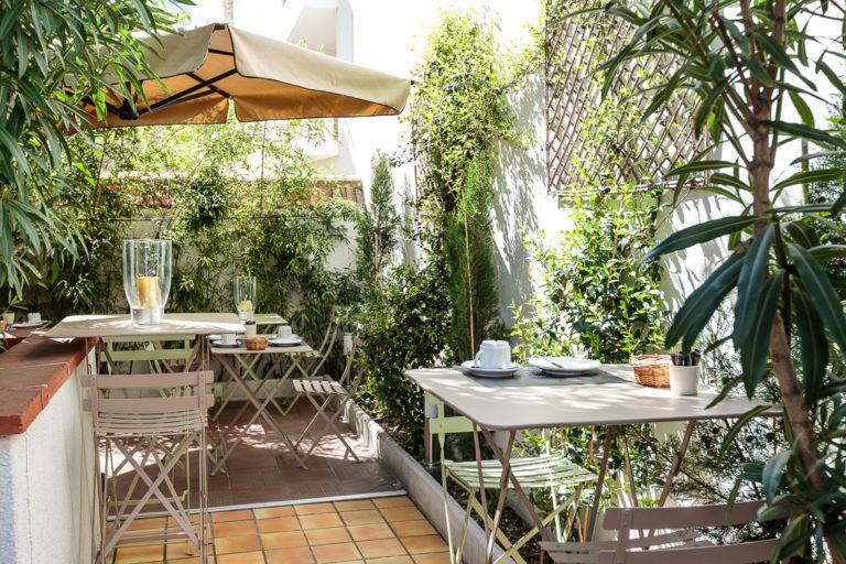 Hotel Alize Toulouse Terrasse Minimes avec le soleil