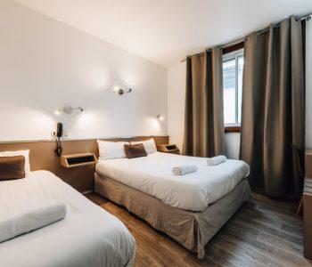 chambre triple hotel alize